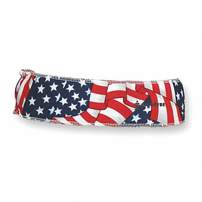 Headband Terrycloth Red White and Blue Universal 1 EA
