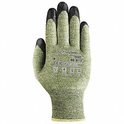 D6133 Cut Resistant Gloves Green/Black Sz 8 PR