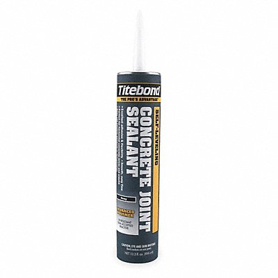 Gray Self-Leveling Concrete Floor Joint Sealant 10.1 oz Cartridge Coverage 31 ft @ 1/4 x 1/4