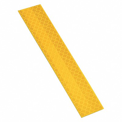Reflective Tape Strips 1 Width 6 Length Multi-Purpose Poly Bag Package Quantity 10