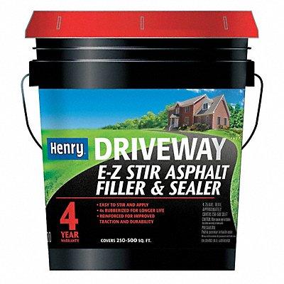 4.75 gal Pail Asphalt Sealer 4 hr Dry Time Recoat 1 to 2 days Full Cure Time