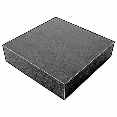 Open Cell Foam Sheet 300135 Polyurethane 1 Thick 24 W X 24 L Charcoal