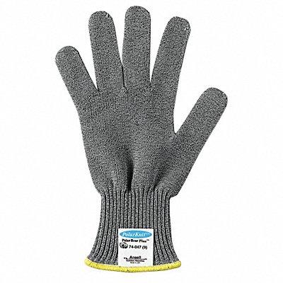 Uncoated Cut Resistant Glove ANSI/ISEA Cut Level 4 Dyneema? Lining Gray 9 EA 1