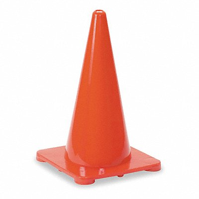Traffic Cone 18 Cone Height Red Polyethylene