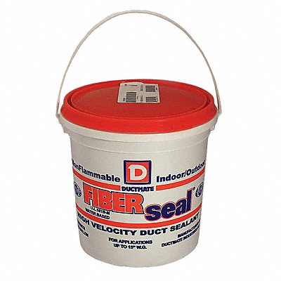 Gray Duct Sealant Water 1 gal Pail