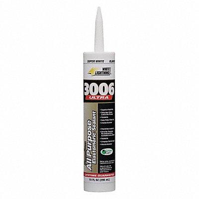 Super White Caulk Acrylic 10.0 oz Cartridge