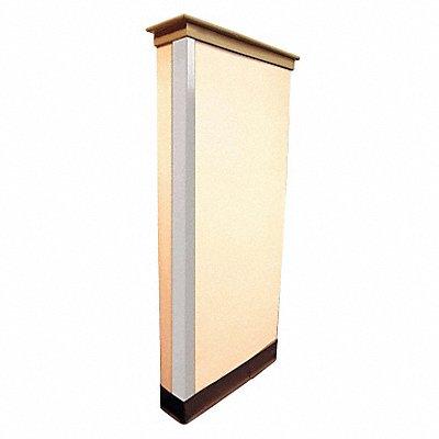 Corner Guard PVC 48 Height 3 Width 0.1 Thickness White