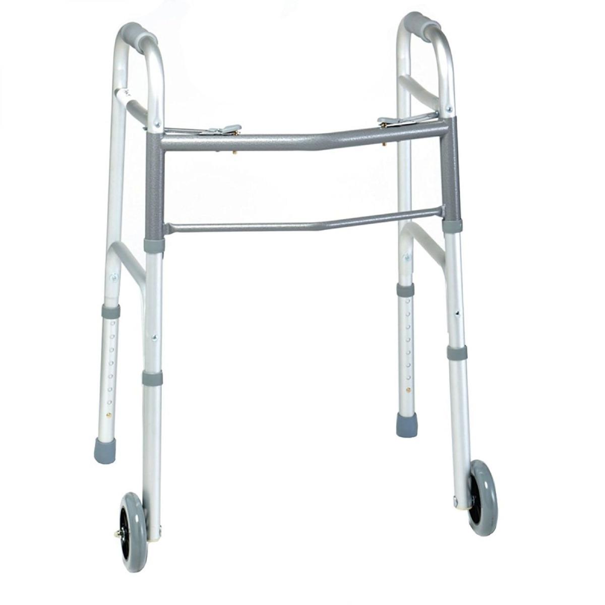 "Days Two Button Walker, Adult w/ 5"" Wheels"