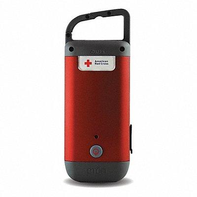 General Purpose LED Handheld Flashlight Red