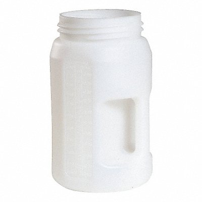 3 Liter Fluid Storage Container Drum 10.6 Height (In.) 6.3 Outside Dia (In.)