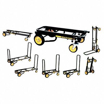 Convertible Hand Truck 350 lb./350 lb Horixontal/Vertical Load Cap. Continuous Frame