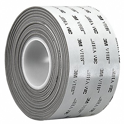 Acrylic Foam Double Sided VHB Foam Tape Acrylic Adhesive 25.00 mil Thick 1 X 5 yd. Gray