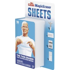Mr. Clean MagicEraser Sheets , PGC90618, Pack of 16