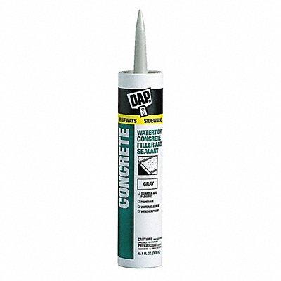 Gray Caulk Acrylic 10.1 oz Cartridge