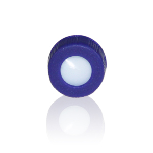 Screw Cap, 9-425, Blue, Pre-slit