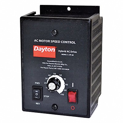Variable Frequency Drive 1/2 Max HP 1 Input Phase AC 120/208-240VAC Input Voltage