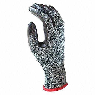 Arc Flash Gloves Black/Gray Kevlar? Modacrylic and Fibreglass with Neoprene Palm Coating Size L