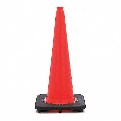 Traffic Cone 28 Cone Height Orange PVC