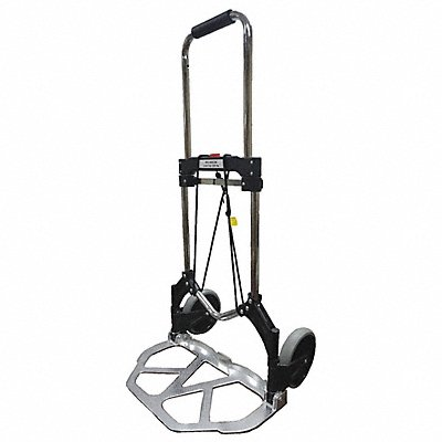 Folding Hand Truck Straight Bar 225 lb. Overall Width 19-1/4  Overall Height 39