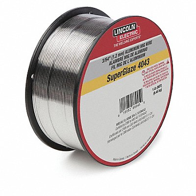 1 lb Aluminum Spool MIG Welding Wire with 0.035 Diameter and ER5356 AWS Classification